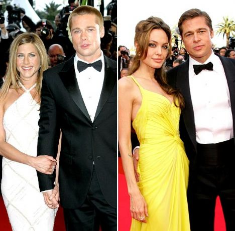 İki kadında Brad Pitt ile birlikta olduğu yıllarda Cannes'a yolculuk yaptı. Jennifer 2004'de, angelina ise 2006'da.